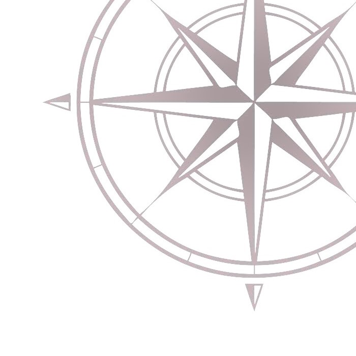cropped compass